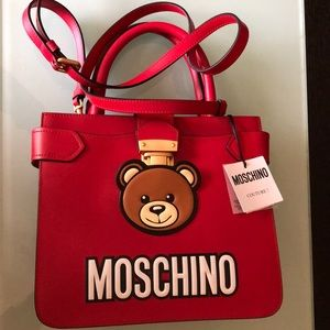 Authentic Moschino cross body bag